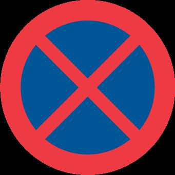Förbjudet att stanna och parkera
