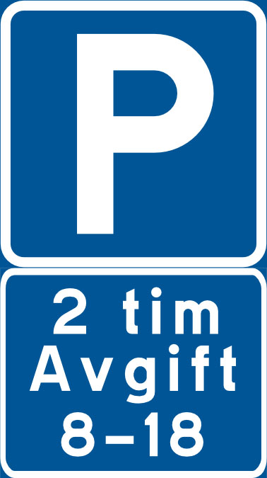 parkeringsskylt